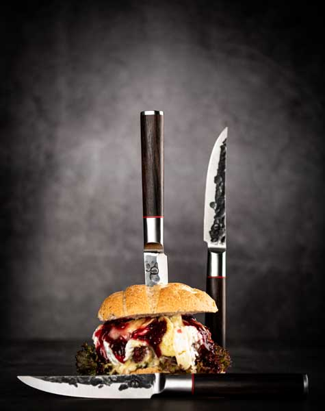 Forged Sebra Steakmessen Sfeer